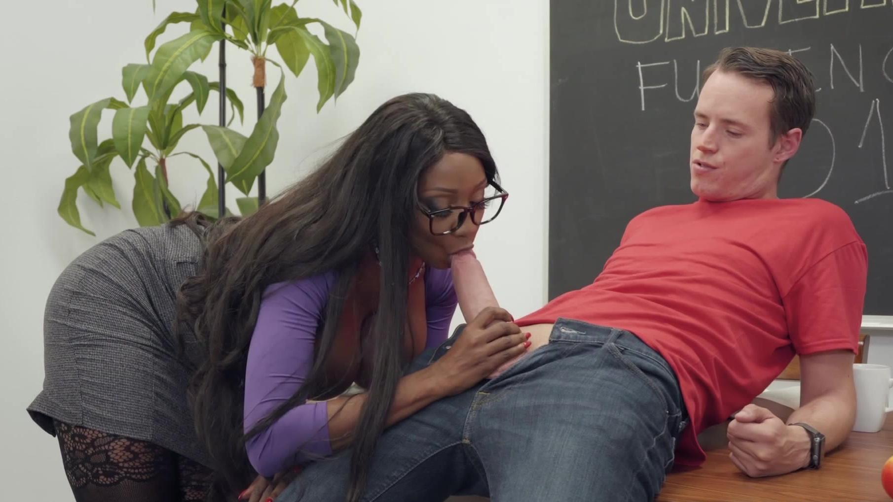 Blonde Teacher Fucks Student