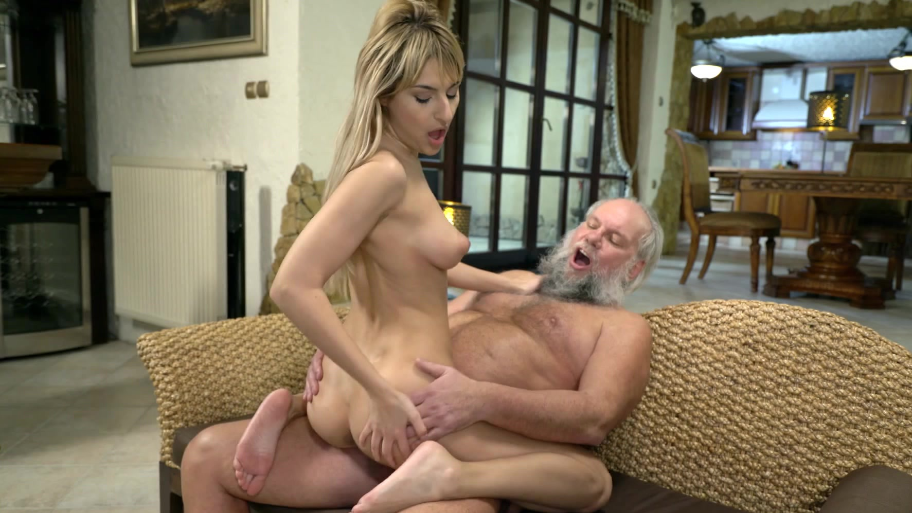 Blonde girl gets fucked by another guy Amazing Blonde Girl Sarah Cute Gets Eaten Out And Fucked By Horny Old Man Movie Albert Milf Fox
